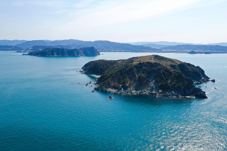 一般のお客さまには開かれていない無人島です。